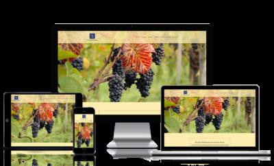 Webseite für Weinbauer in Baselland
