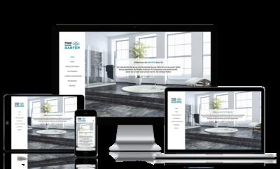 Webseite für Plattenleger in Basel