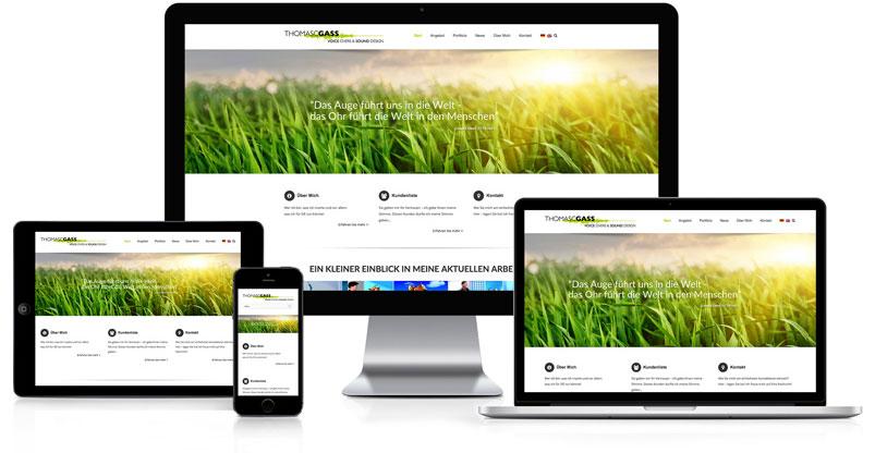 Webseite für Thomas C. Gass